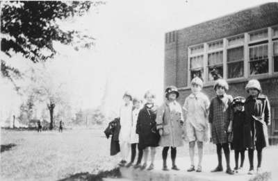 Students at Brock Street Public School