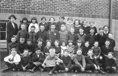 King Street School Students, 1924