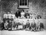 Almonds Town Line School Class, c.1910