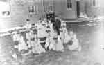 Whitby Collegiate Institute Calisthenics Class, 1888