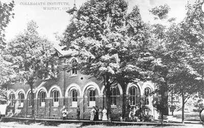 Whitby Collegiate Institute, c.1910
