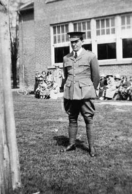 Hiram Case, Cadet Officer