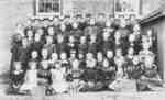 Almonds Town Line School Class, 1899