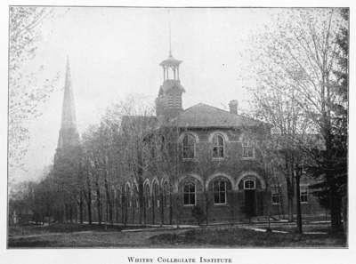 Whitby Collegiate Institute, 1904