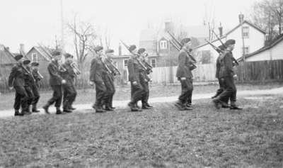 Whitby Collegiate Institute Cadets, 1947