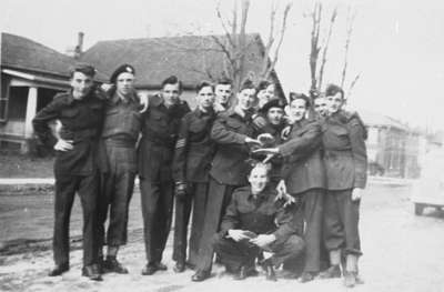 High School Cadets on Colborne Street, 1944