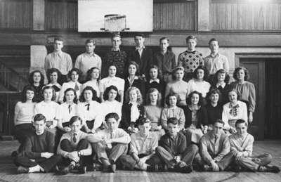 Whitby Collegiate Institute Grade Ten B Class, 1947-1948