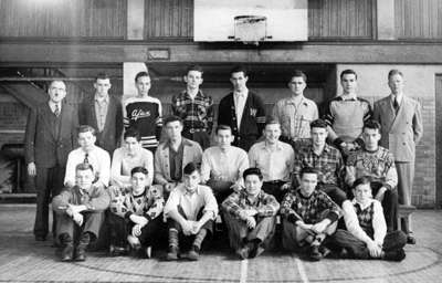 Whitby Collegiate Institute Rugby Team, 1947-1948