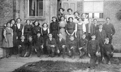 Whitby Collegiate Institute First Form Class, 1910