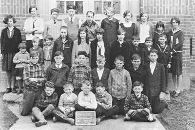 Brock Street School Room Two Students, 1929