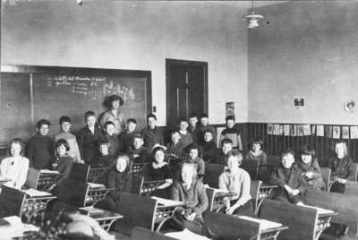 Dundas Street School Room Two Students, 1923