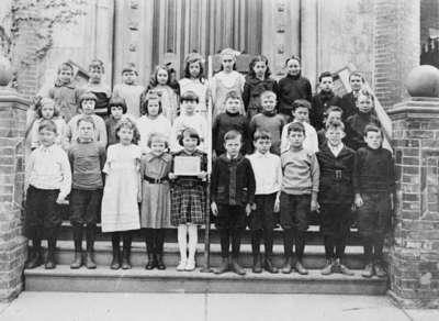 Henry Street School Room One Class, 1921