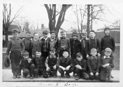 King Street School Grade Two Boys, 1944