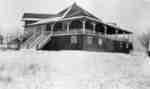 Pavilion at Heydenshore Park in Winter, c.1920-1925