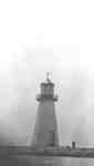 Lighthouse at Whitby Harbour, c.1920