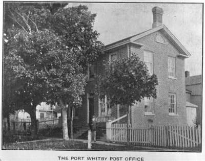 Port Whitby Post Office, 1905