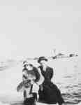 Couple at Port Whitby, c.1915
