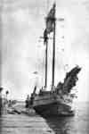 Maple Leaf Schooner at Whitby Harbour, c.1910