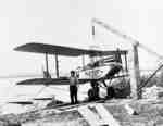 Red Wing Orchards Pontoon Plane at Whitby Harbour, 1931