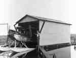 Airplane Hanger at Whitby Harbour, 1931
