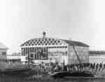 Construction of Hanger at Whitby Harbour, 1935