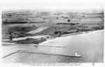 Aerial View of the Entrance to Whitby Harbour, 1920