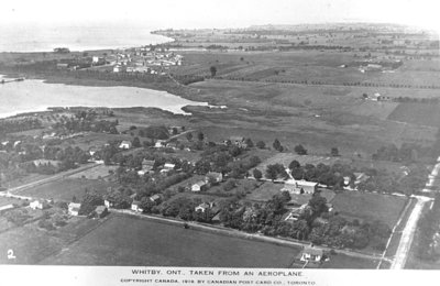 Port Whitby Aerial View, 1919
