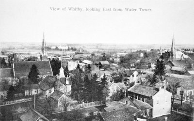 Looking South-east from Euclid Street Water Tower, 1906