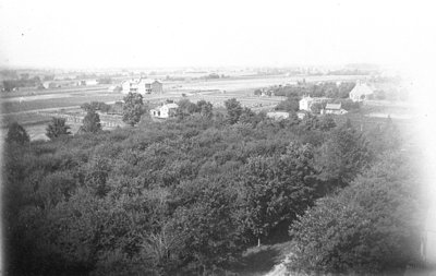 Looking North-west from Euclid Street Water Tower, July 1906