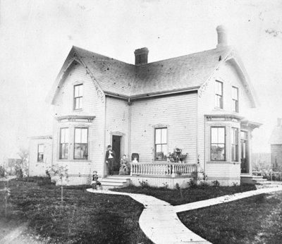 Residence of Andrew M. Ross, c.1890