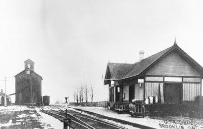 Brooklin Railway Station, c.1910