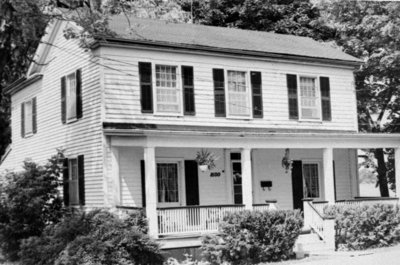 Residence of James Rowe, 1975
