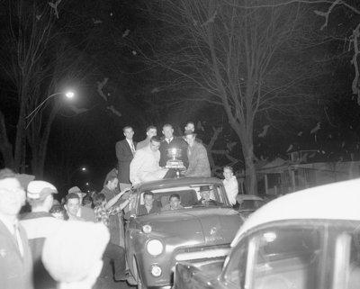 Whitby Dunlops Parade, 1958