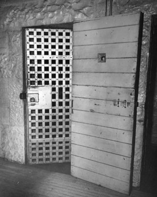 Ontario County Jail Cell Doors 1960 & Ontario County Jail Cell Doors 1960: Whitby Images