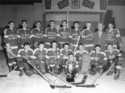 Brooklin Hockey Team, 1956