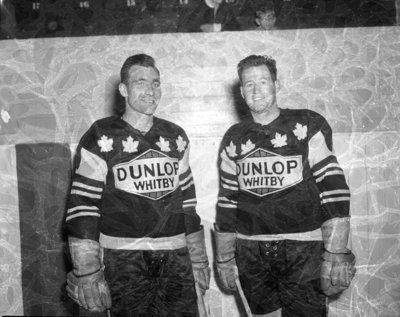 bill flick and mickey roth c 1959 whitby images