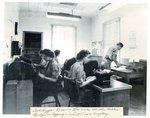 Camp X Teletype Room, c.1944-1946
