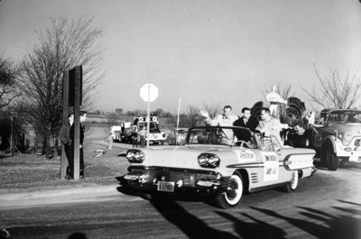 Whitby Dunlops World Ice Hockey Championship Parade, 1958