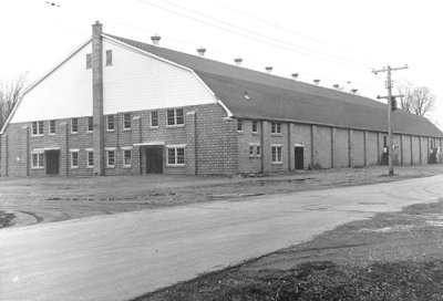 Whitby Community Arena, 1954