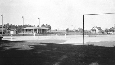 Whitby Lawn Bowling and Tennis Club. c.1932