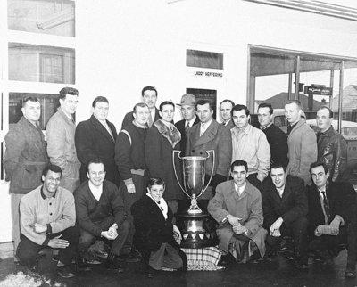 Larry's B.A. Inter-County Senior Baseball Champions, 1954