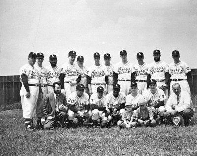 Larry's B.A. Inter-County Senior Baseball Team, 1956