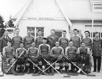 Brooklin Hockey Team, 1948