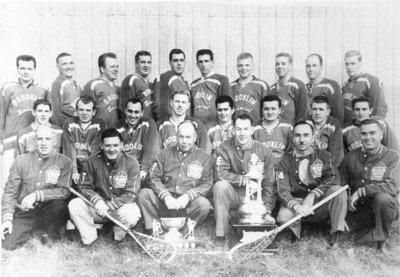 Brooklin Lacrosse Club, 1959