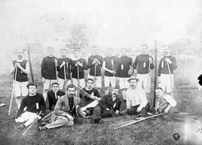Whitby Lacrosse Team, 1893