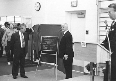Opening of Civic Recreation Centre, 1991