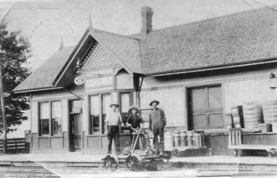 Brooklin Railway Station, c.1910