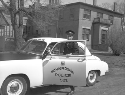 Ontario Provincial Police Officer, c.1948