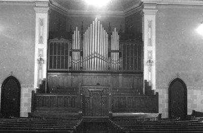 Whitby United Choir Loft, 1939