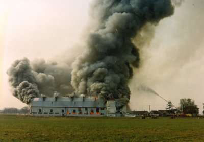 Whitby Psychiatric Hospital Barn Fire, 1976